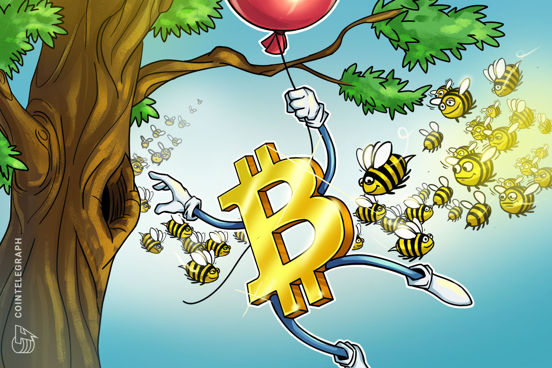 由于比特币价格在几分钟内暴跌了1.4K美元,因此清算了10亿美元