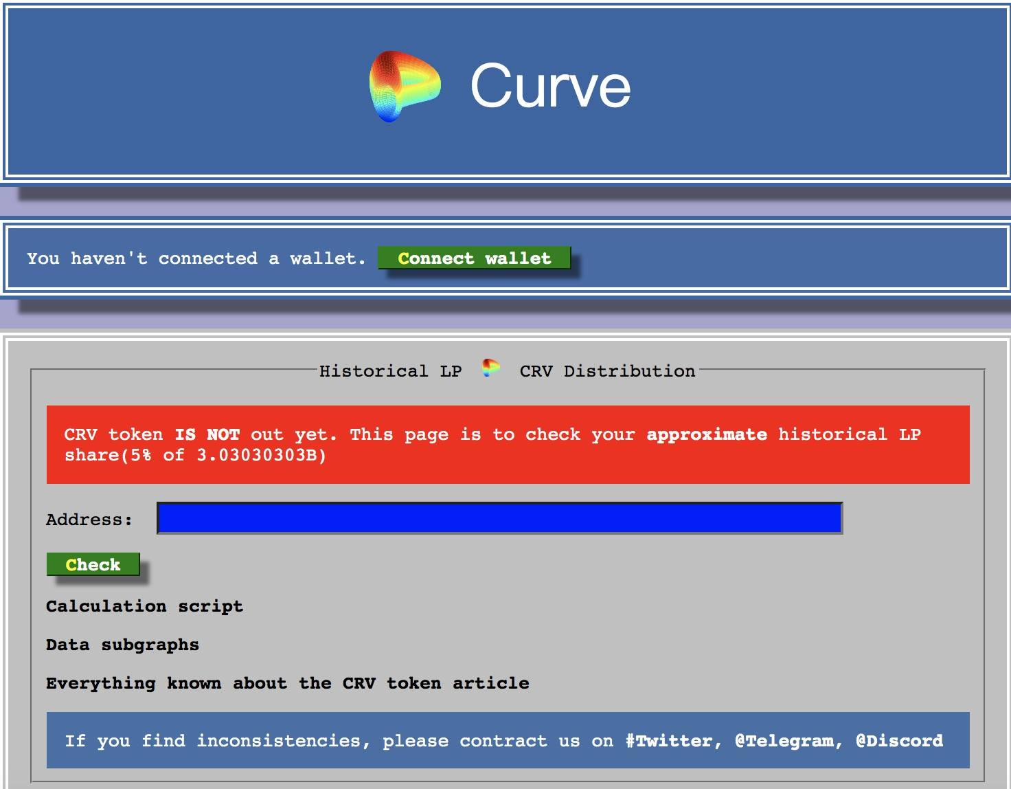 Curve完成初始流动性挖矿,20个鲸鱼地址分得近一半奖励