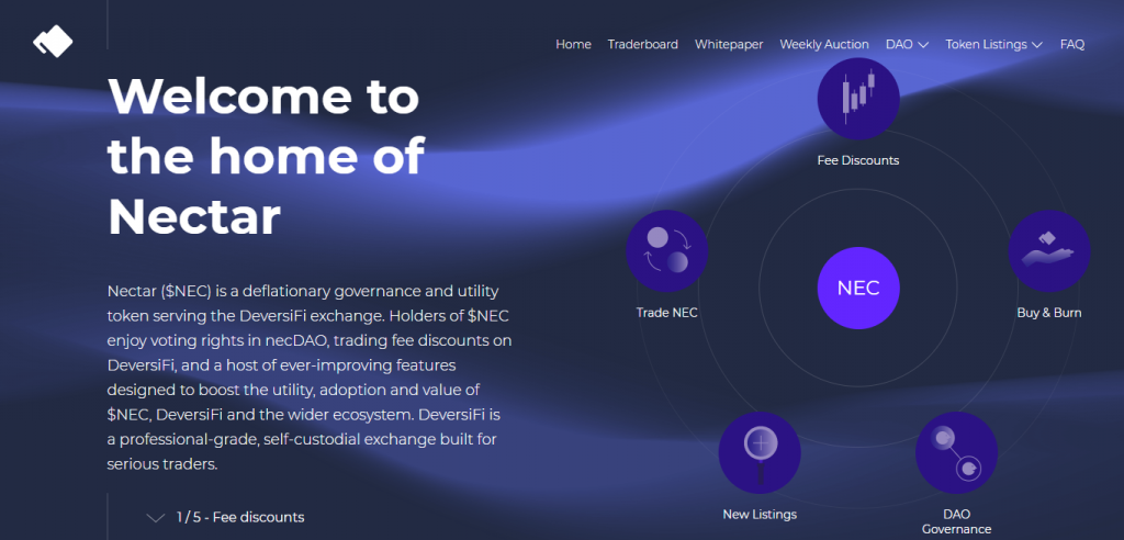 necDAO 将引领 Dex + DAO 新趋势?